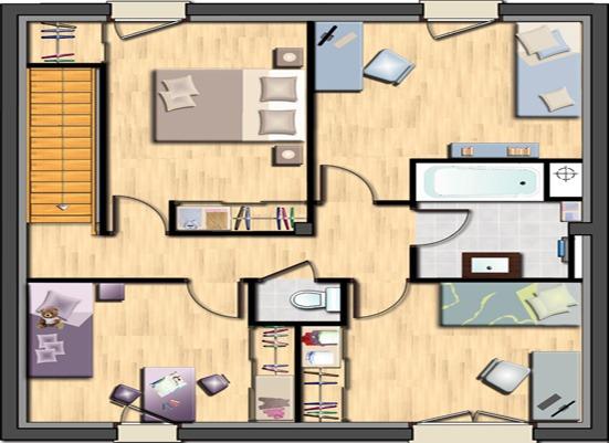 Votre maison + terrain à Conches-en-Ouche  - 27190