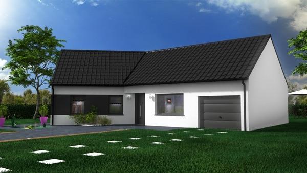 Votre maison + terrain à Évin-Malmaison  - 62141