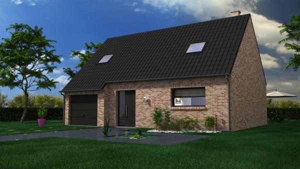 Votre maison + terrain à Hendecourt-lès-Cagnicourt  - 62182