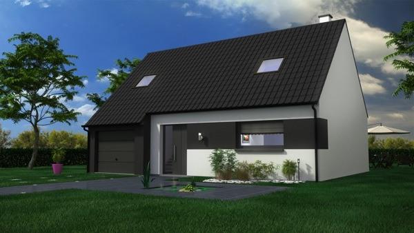 Votre maison + terrain à Saint-Vaast-en-Chaussée  - 80310