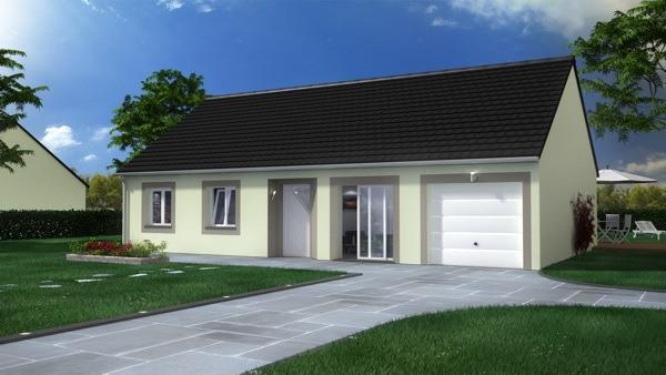 Votre maison + terrain à Rebergues  - 62850
