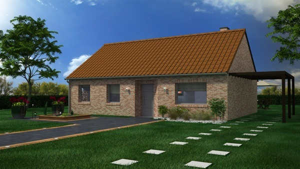 Votre maison + terrain à Courrières  - 62710