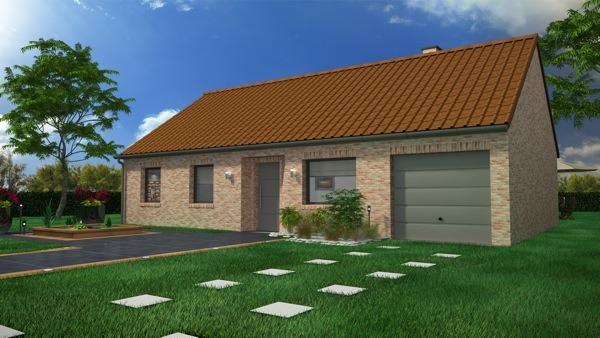 Votre maison + terrain à Witry-lès-Reims  - 51420