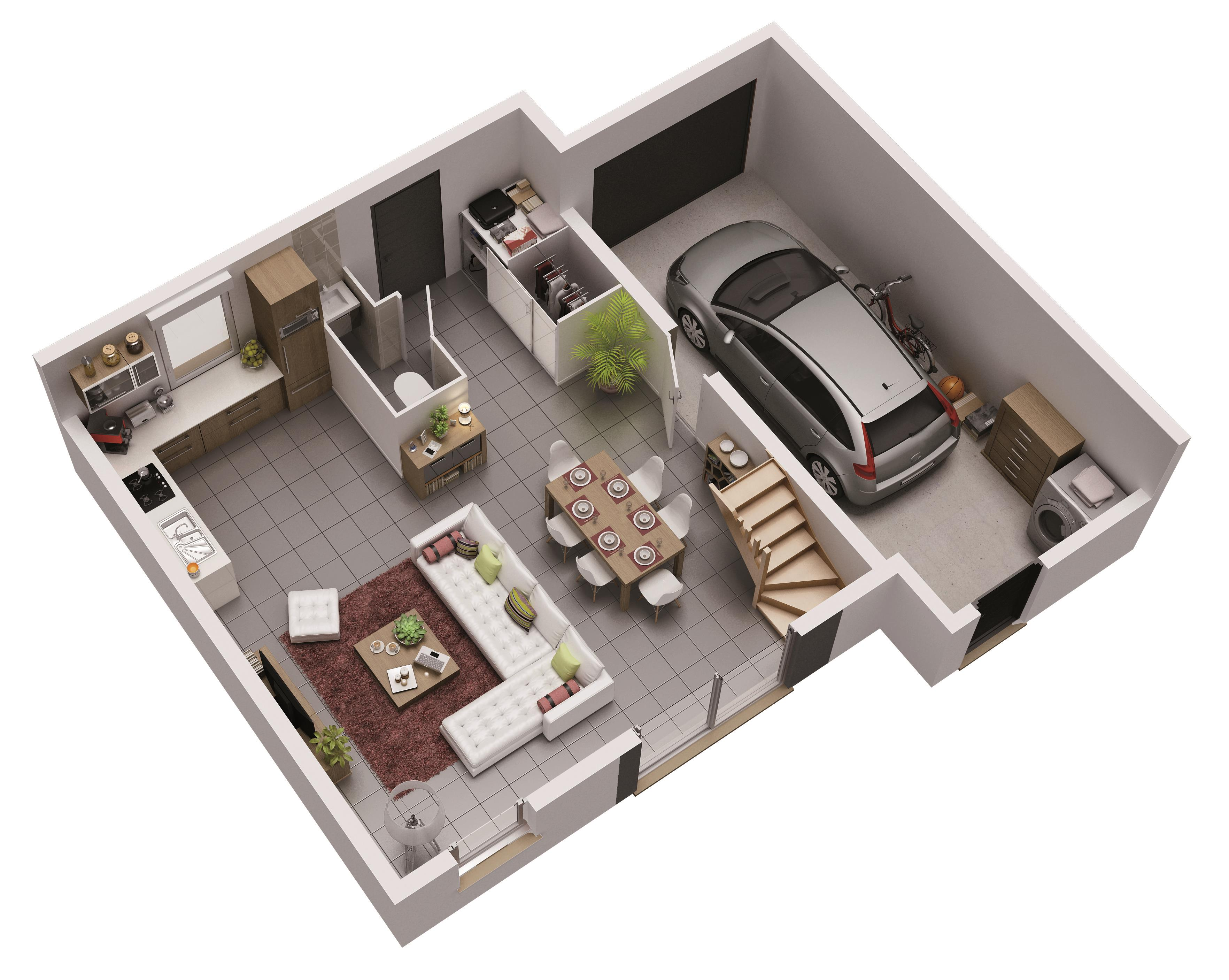 plan maison phenix welcome etage