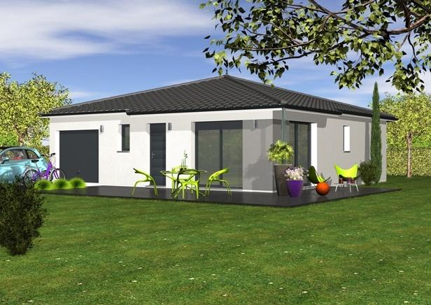 maisons et terrains - Maison Moderne Carre