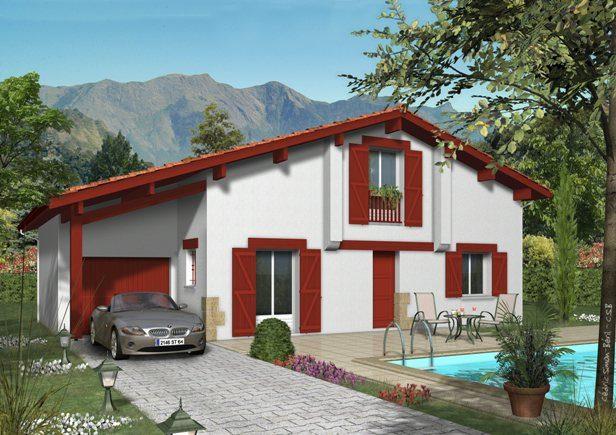 Mod les et plans de maisons personnalisable for Modele maison geoxia