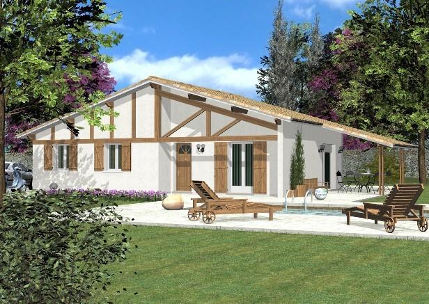 Mod les et plans de maisons mod le pyr n es basque for Modele maison geoxia