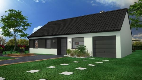 Votre maison + terrain à Biache-Saint-Vaast  - 62118