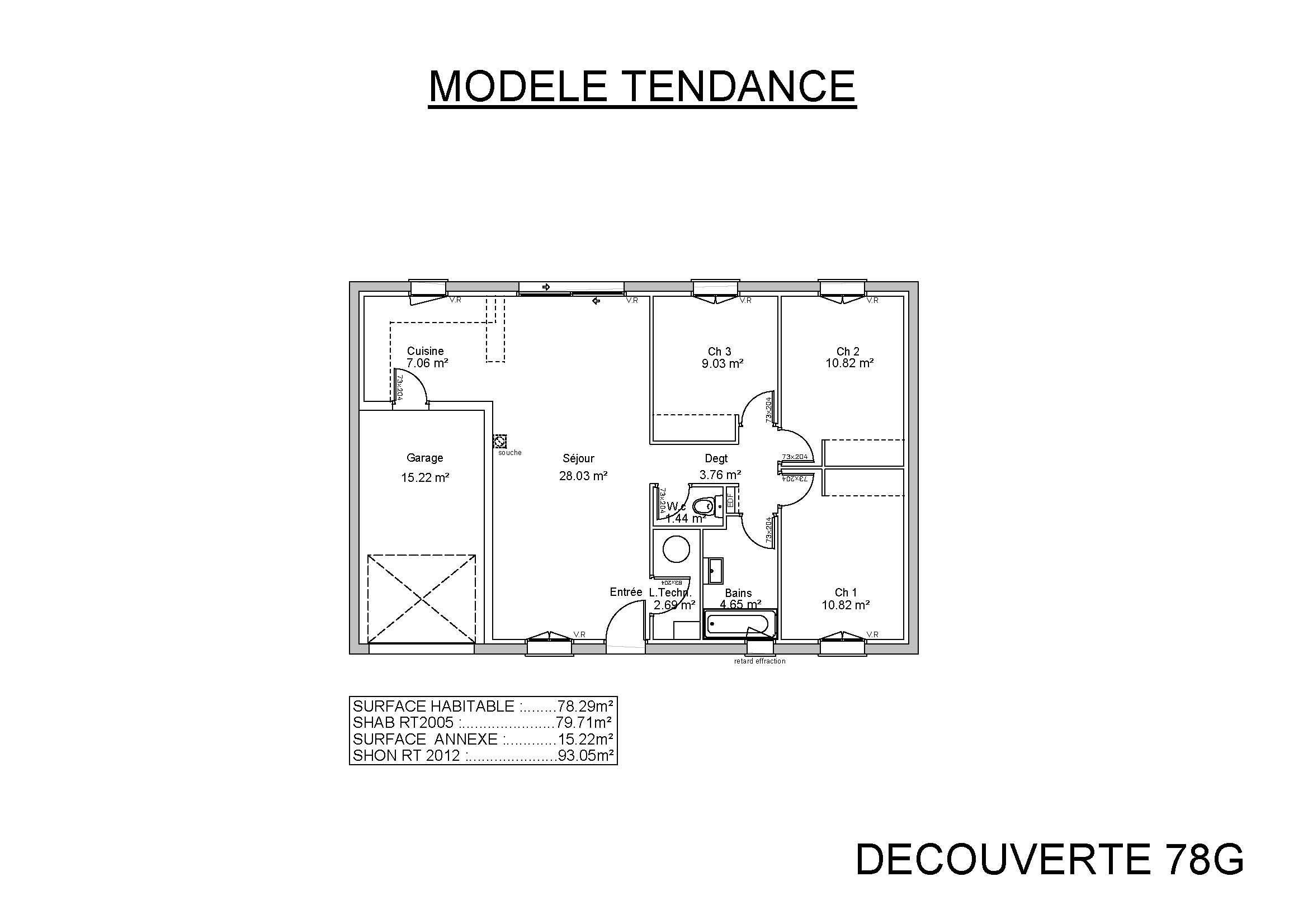 Maisons et terrains maison construire pargnes 17120 for Maison terrain a construire