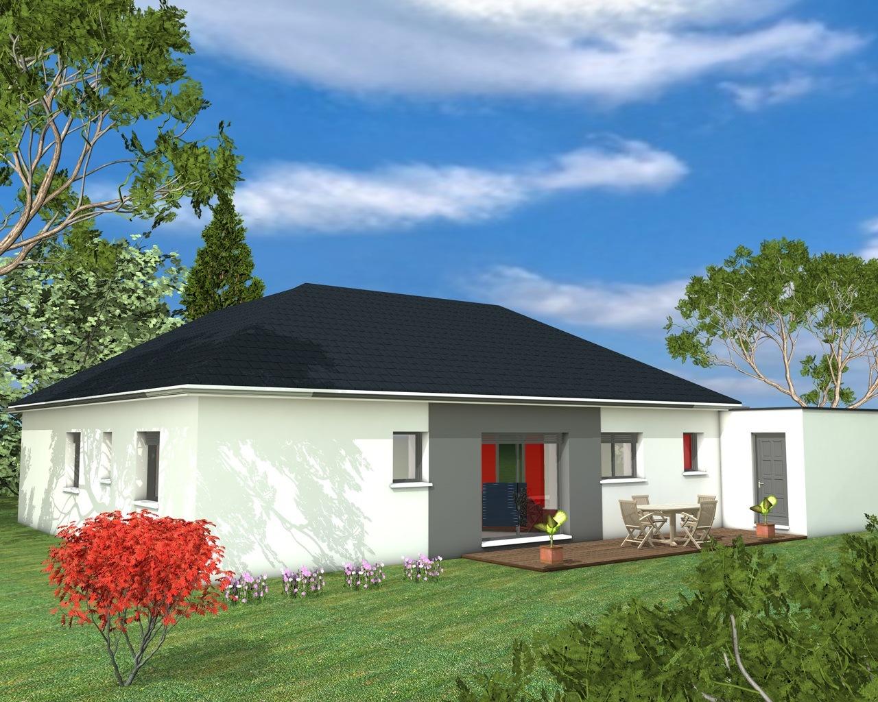 Mod les et plans de maisons sur mesure constructions for Modele maison toit plat