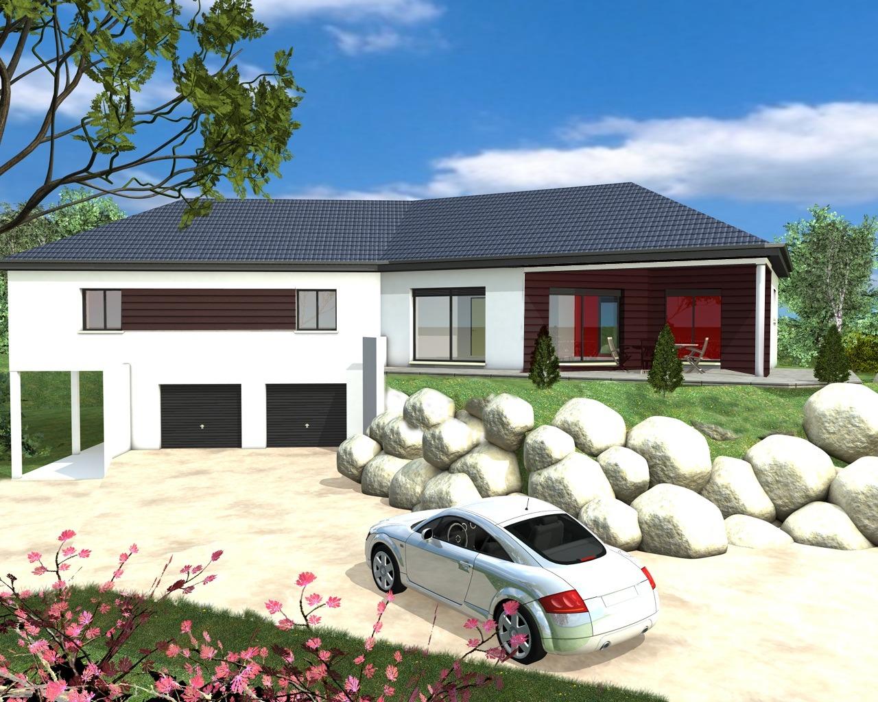 Cout construction maison avec sous sol maison moderne - Construction maison sans sous sol ...