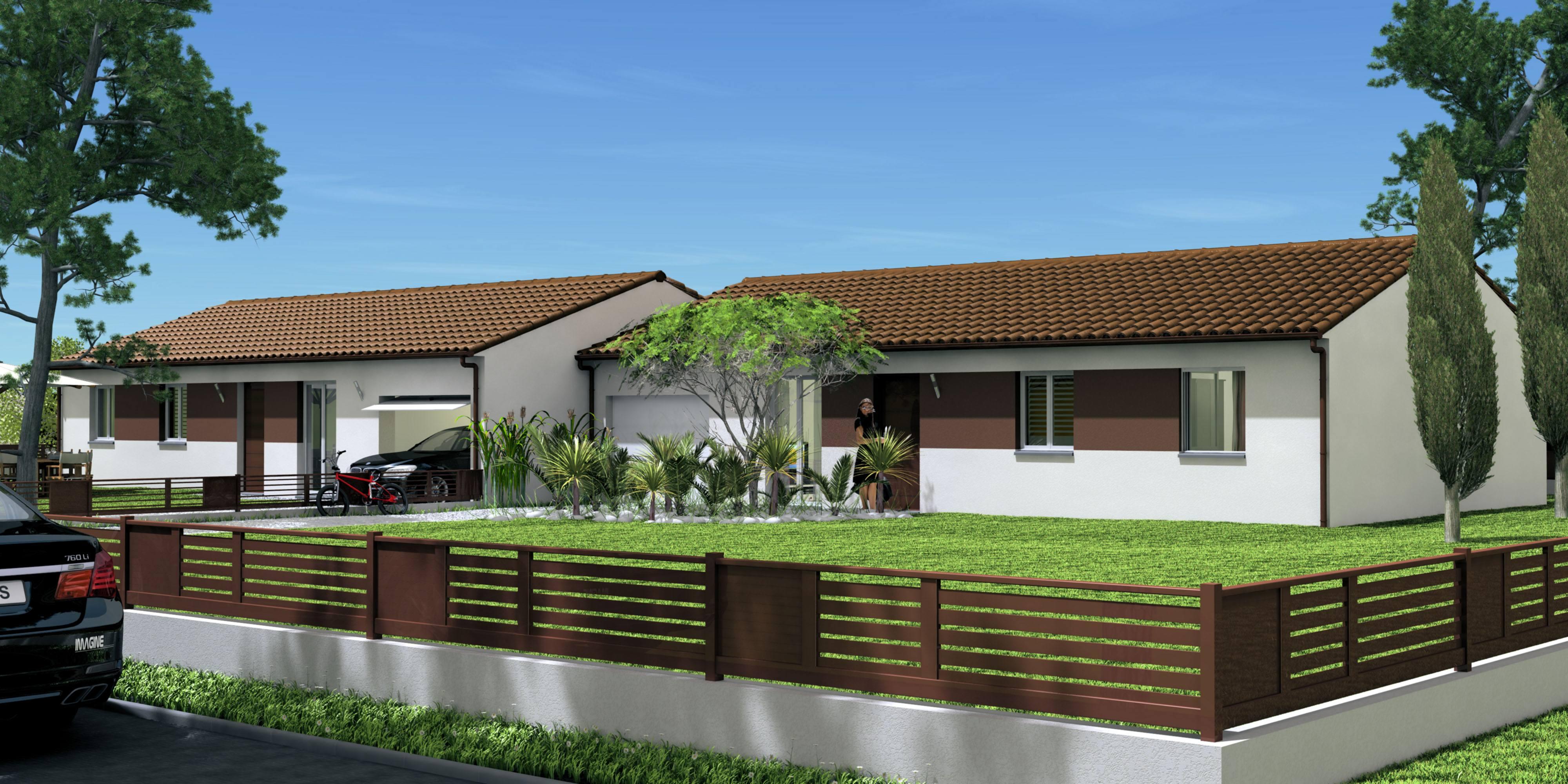 Mod les et plans de maisons investisseurs constructions for Maison phenix var