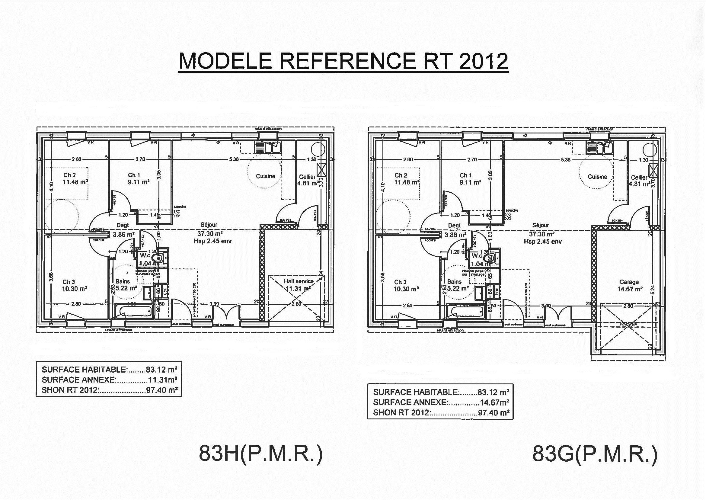 Maisons et terrains maison construire villefranque for Comment trouver des plans de maison