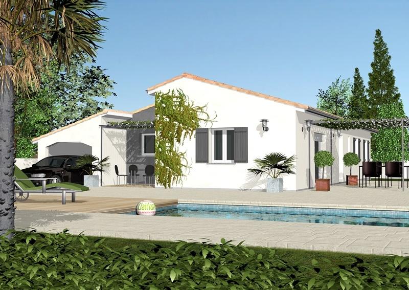 Fabulous lavande maison ue with plan maison 4 chambres etage for Maison 4 chambres etage