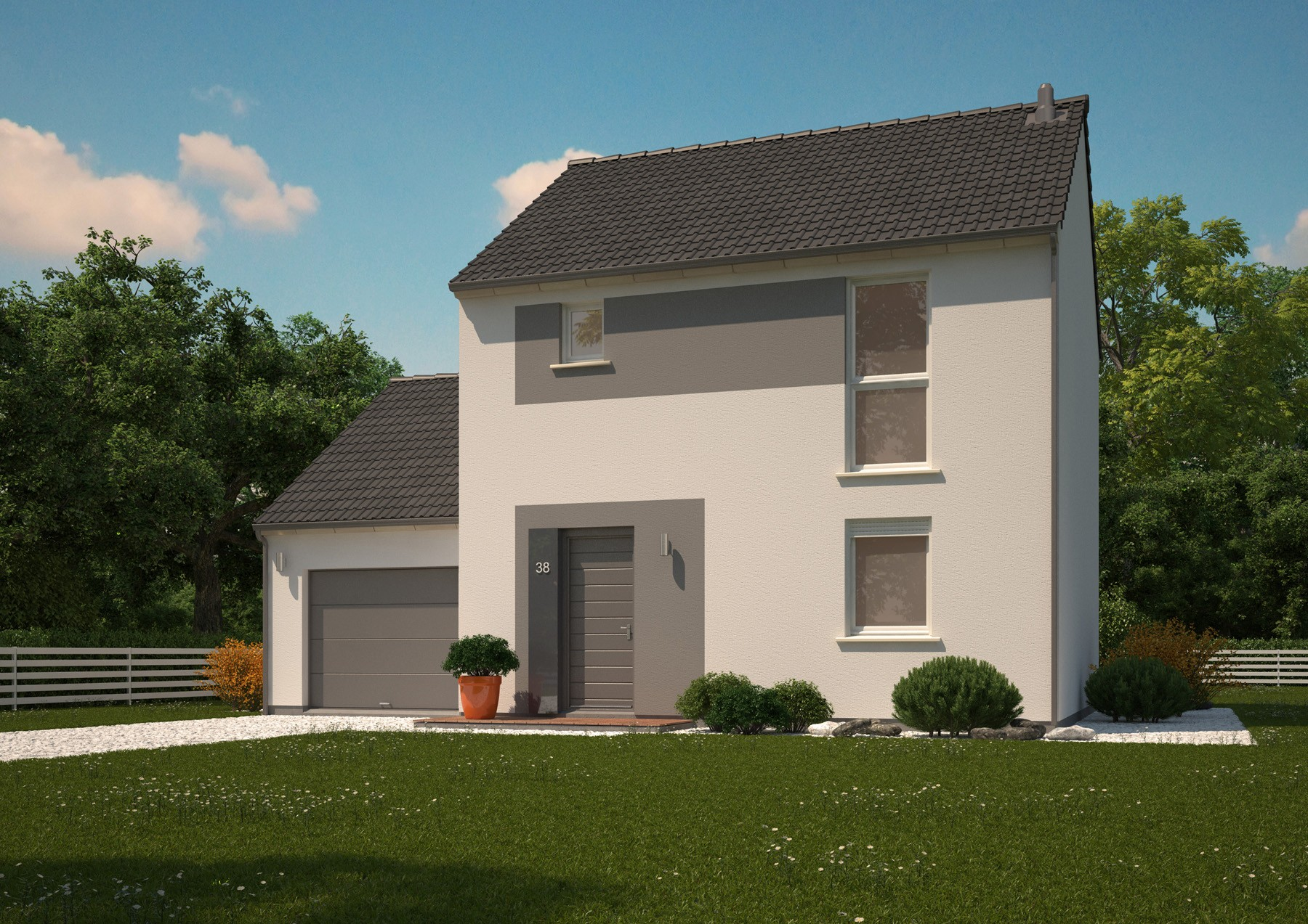 Maison neuve 200 000 euros vente maison 350 m u20ac for Budget construction maison 200 000 euros