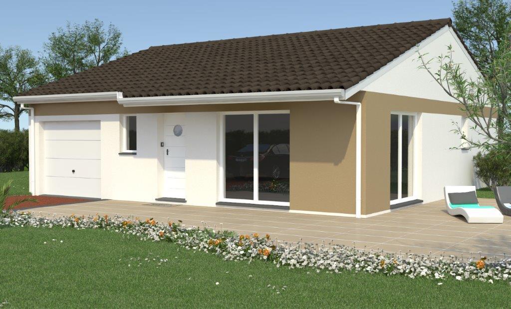 Mod les et plans de maisons mod le de plain pied ligne for Modele maison geoxia