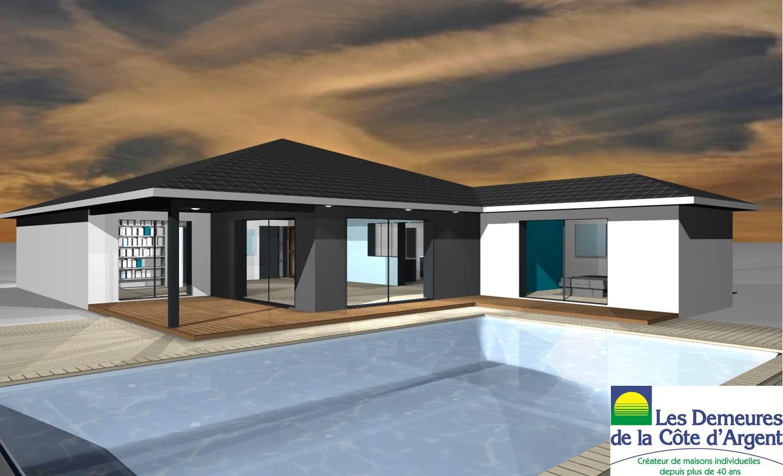 Maisons et terrains constructions demeures c te argent for Budget construction maison 130 m2
