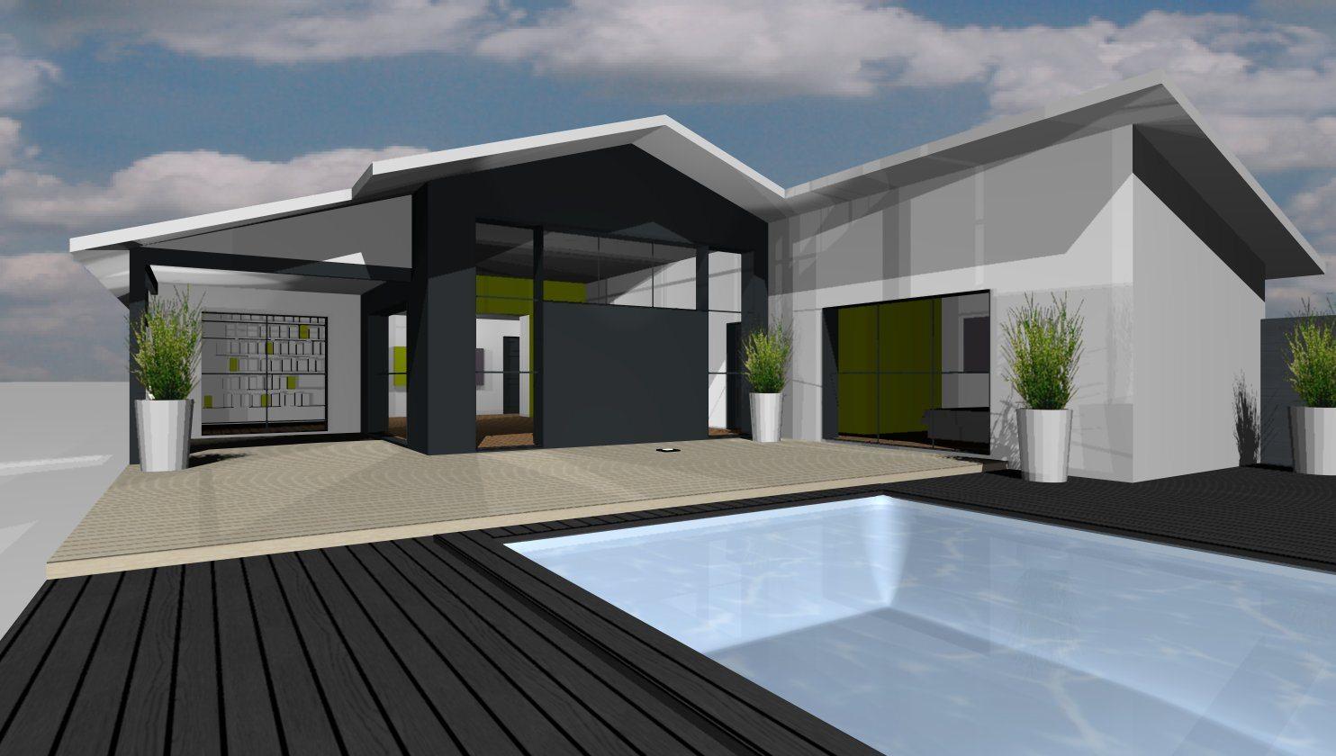 Mod les et plans de maisons mod le de plain pied loft constructions dem - Hauteur sous plafond maison ...