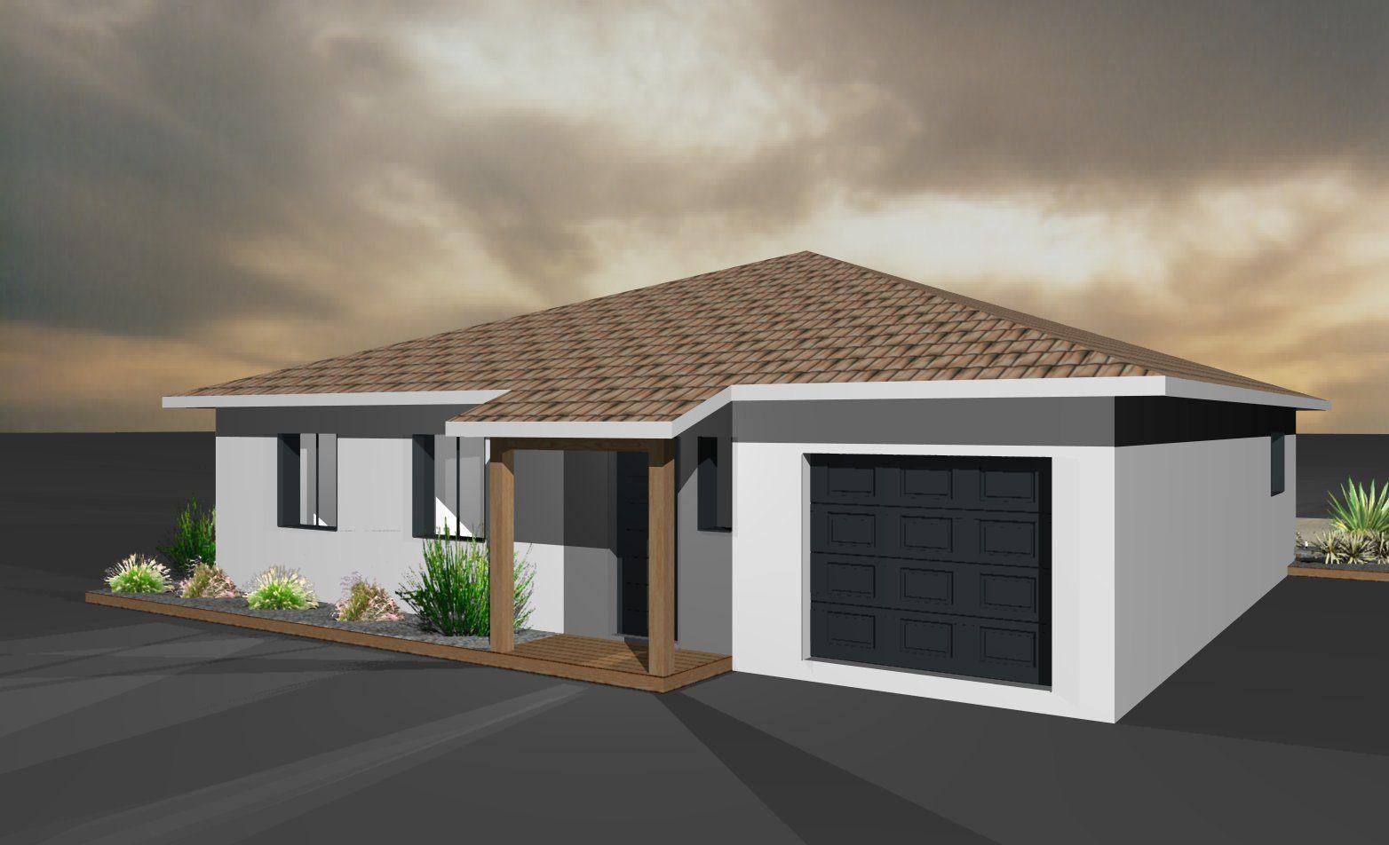 Mod les et plans de maisons mod le de plain pied st for Modele maison geoxia