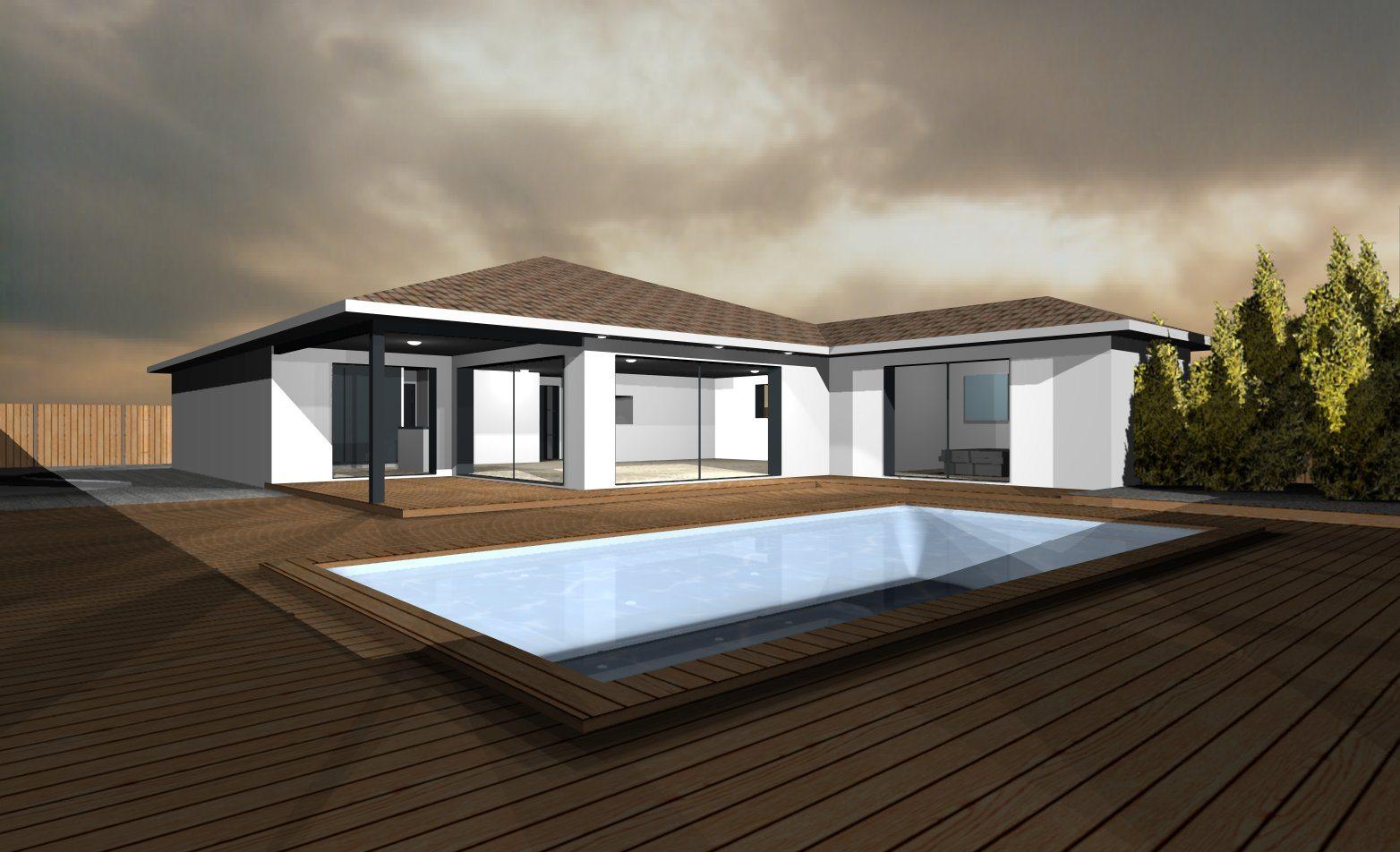 Mod les et plans de maisons mod le de plain pied soft for Modele maison geoxia