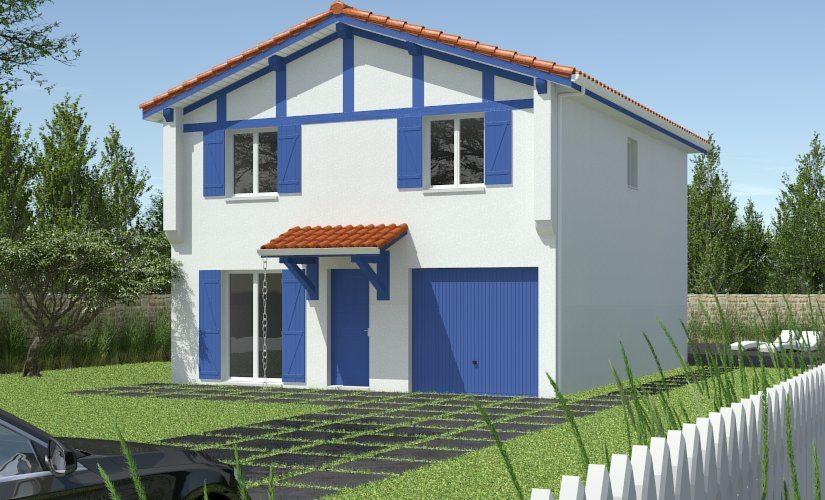 Mod les et plans de maisons mod le tage ligne for Modele maison geoxia