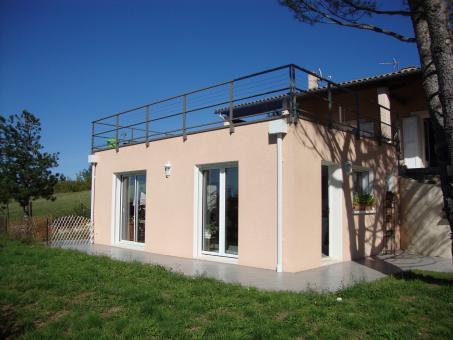 Extension de maison indépendante aux normes accessibilités à Escoussens 81290