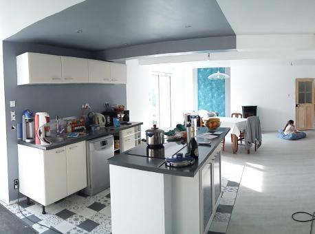Rénovation et aménagement intérieur d'une maison