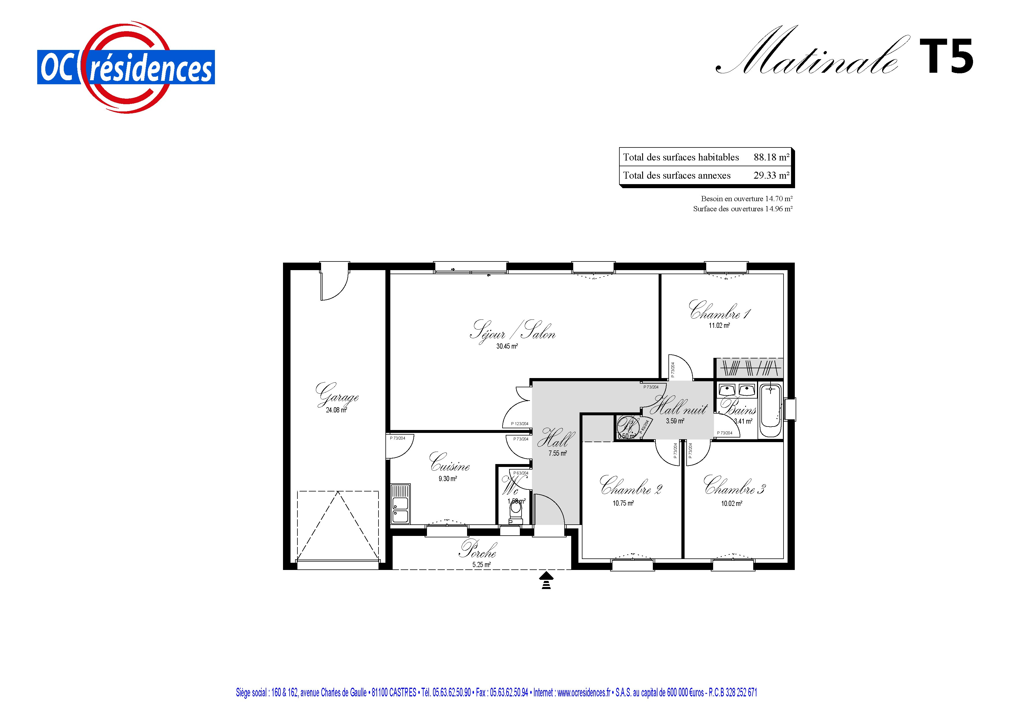 Recherche maison neuve ou maison individuelle 81 tarn ma for Plan maison plain pied 70m2