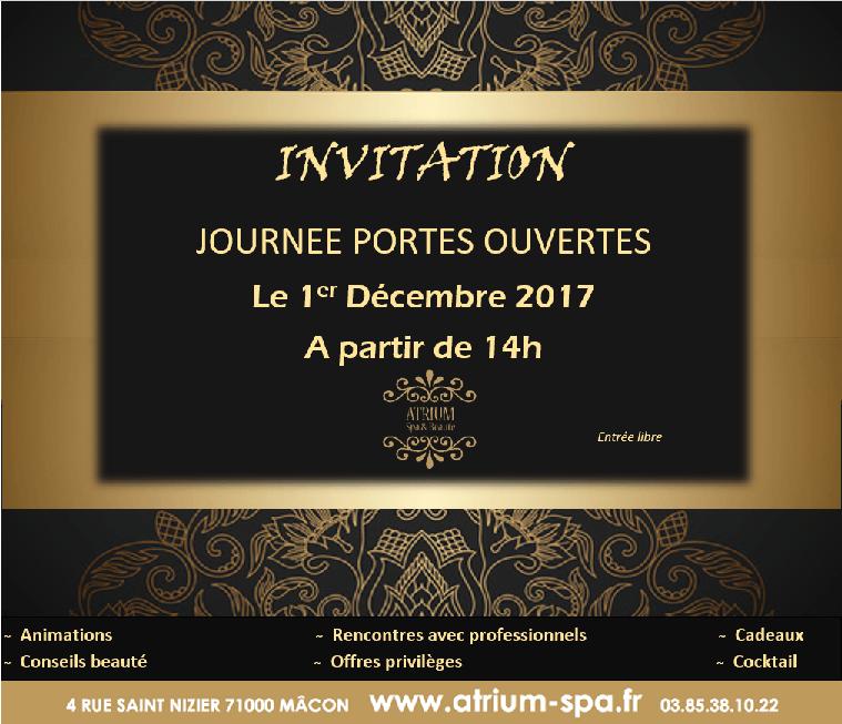 Invitation Portes ouvertes