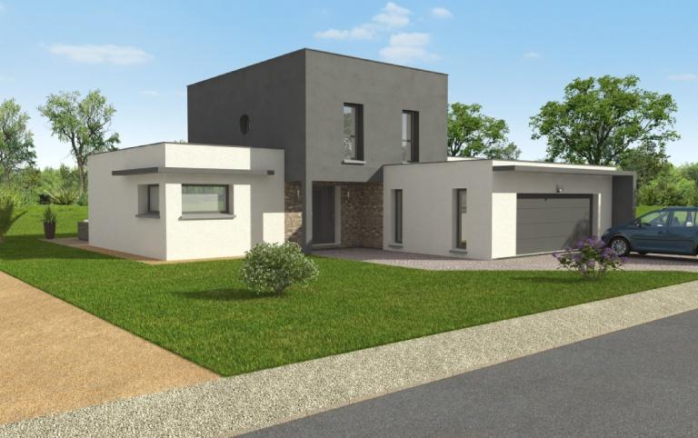 Maison moderne personnalisée
