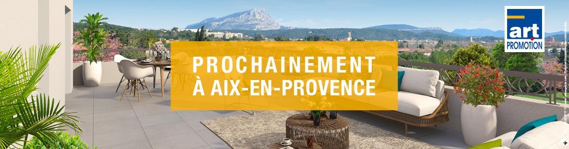 PROCHAINEMENT A AIX EN PROVENCE NOUVELLE RESIDENCE
