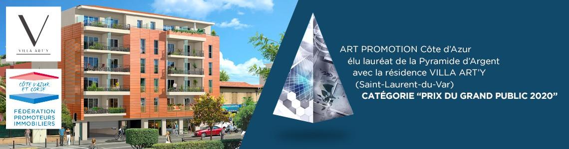 """Villa Arty """"Prix du Grand Public 2020"""""""