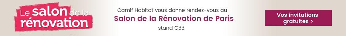 Vos invitations gratuites pour le Salon de la Rénovation