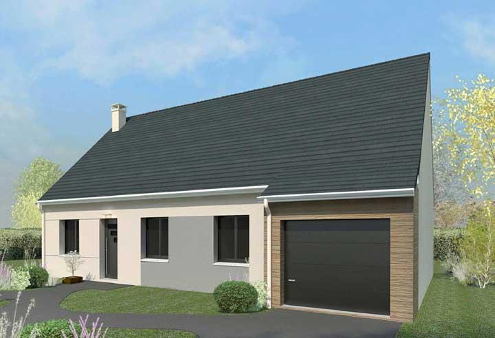 Maison + terrain à LIZY-SUR-OURCQ 77440 dans la SEINE-ET-MARNE