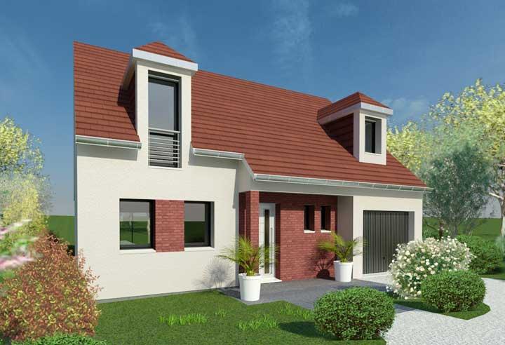 Construction d'une maison à Pont-de-l'Arche 27340 pour 210 000 €