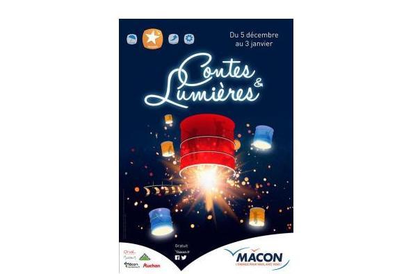 Découvrez pour Noël les Contes et Lumières à Mâcon !