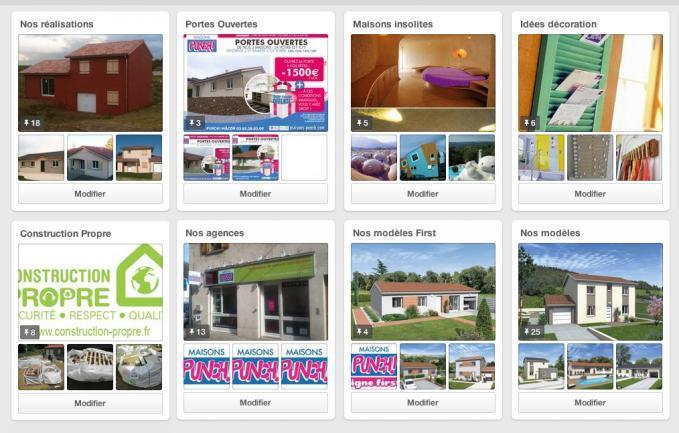 Maisons Punch présent sur Pinterest