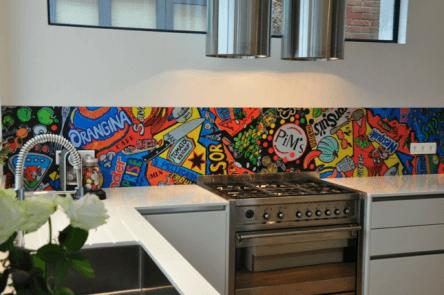 Maison Punch crédence cuisine