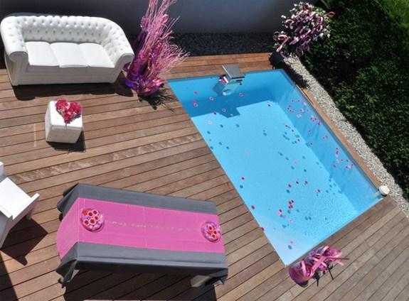 Petite piscine pour petit terrain c 39 est la tendance - Piscine sur petit terrain ...