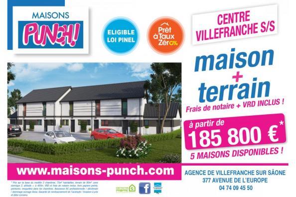 Projet de 5 Maisons à Villefranche sur Saône