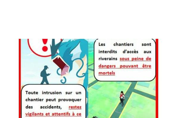 Construction : Attention aux pokémons