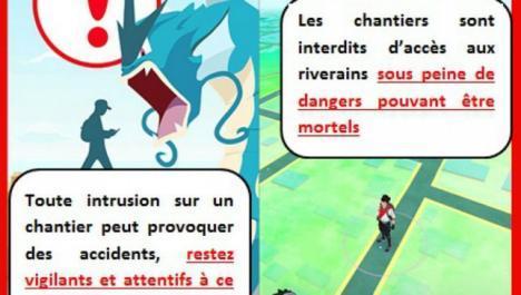 Pokemon GO Chantier