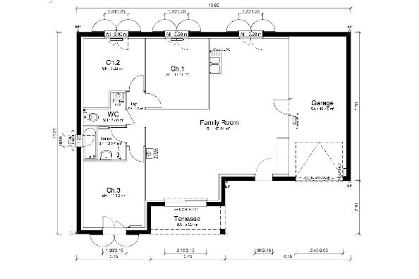 Maison MALOYA - VERSION PACA - Mornas (84550)