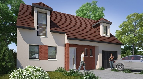 Maison + terrain à COUILLY-PONT-AUX-DAMES 77860 dans la SEINE-ET-MARNE