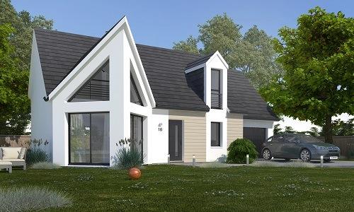 Construction d'une maison à Saint-Benoît-d'Hébertot 14130 pour 249 500 €