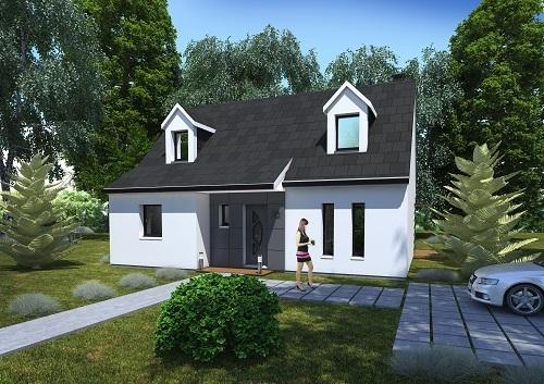Maison + terrain à ISLES-LES-MELDEUSES 77440 dans la SEINE-ET-MARNE