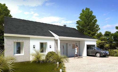 Offre maison terrain à Saint-Just-en-Chaussée 60130 pour 160 150 €