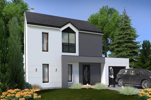 Maison + terrain à ESBLY 77450 dans la SEINE-ET-MARNE