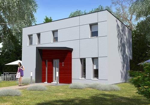 Maison + terrain à BESSANCOURT 95550 dans le VAL D'OISE