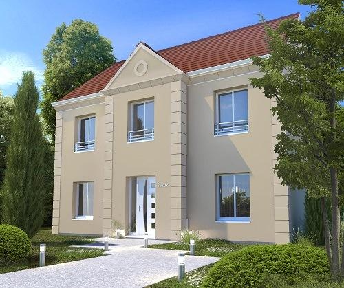 Maison + terrain à LES MUREAUX 78130 dans les YVELINES